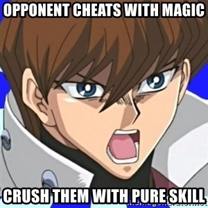 Courage Wolf Kaiba - OPPONENT CHEATS WITH MAGIC CRUSH THEM WITH PURE SKILL