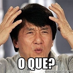 Jackie Chan - O QUE?