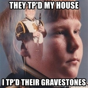 PTSD Clarinet Boy - they tp'd my house i tp'd their gravestones