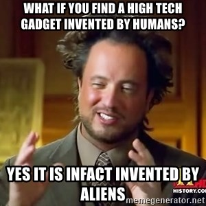 Giorgio A Tsoukalos Hair - What if you find a high tech gadget invented by humans? yes it is infact invented by aliens