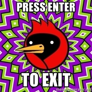 Omsk Crow - PRESS ENTER TO EXIT