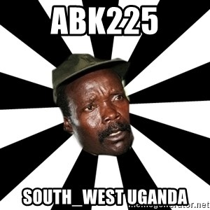 KONY 12 - ABK225 SOUTH_WEST Uganda