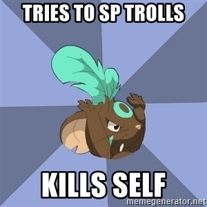 Transformice meme shaman  - Tries to sp trolls kills self