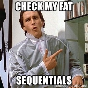 Doubles Guy - check my fat sequentials