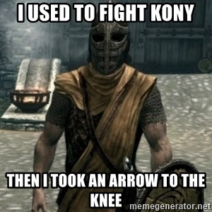 skyrim whiterun guard - I used to fight kony then i took an arrow to the knee
