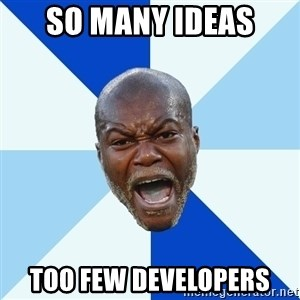 Imperative Cisse - SO MANY IDEAS TOO FEW DEVELOPERS