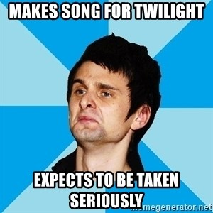 Irrational Muse Fans - MAKES SONG FOR TWILIGHT EXPECTS TO BE TAKEN SERIOUSLY