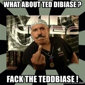 Iron Sheik - wHAT ABOUT TED DIBIASE ? fack THE TEDDBIASE !