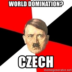 Advice Hitler - World domination? czech