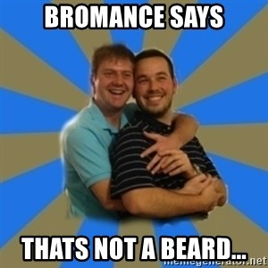 Stanimal - Bromance says Thats not a beard...