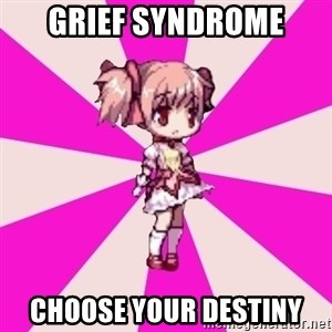 Typical GriefSyndrome gamer - Grief Syndrome choose your destiny