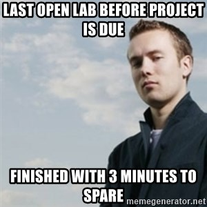 SMUG DHH - last open lab before project is due finished with 3 minutes to spare