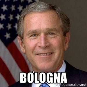 George Bush - BOLOGNA