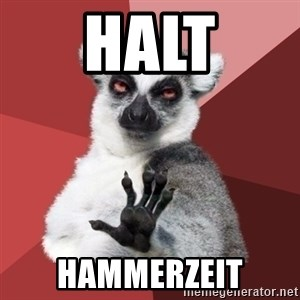 Chill Out Lemur - halt hammerzeit