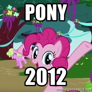 My Little Pony - pony 2012