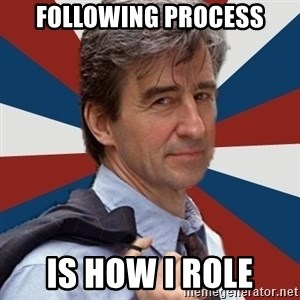 Jack McCoy - following process is how i role