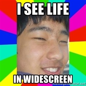 Tony Liu - I see life in widescreen