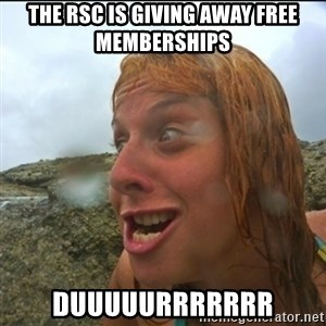 derpy abi - the rsc is giving away free memberships duuuuurrrrrrr