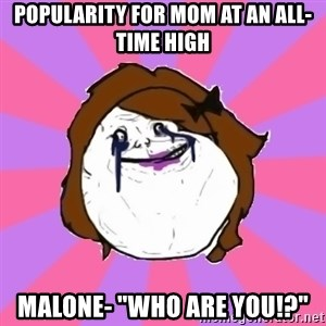 "Victoria Lieto - popularity for mom at an all-time high malone- ""who Are you!?"""