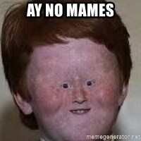 Generic Ugly Ginger Kid - Ay no mames