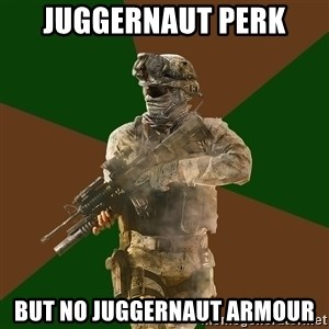 Call Of Duty Addict - Juggernaut perk but no juggernaut armour