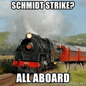 Success Train - SCHMIDT STRIKE? ALL ABOARD