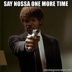 Jules Pulp Fiction - say nossa one more time