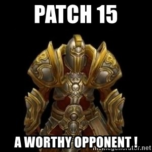 Kormac plain background - Patch 15 a worthy opponent !