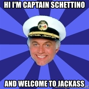 Disillusioned Bridge Officer - Hi i'm captain schettino and welcome to jackass
