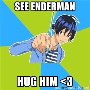 TruePainter - See enderman Hug him <3