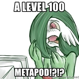 Pokemon Reaction - A level 100 METAPOD!?!?