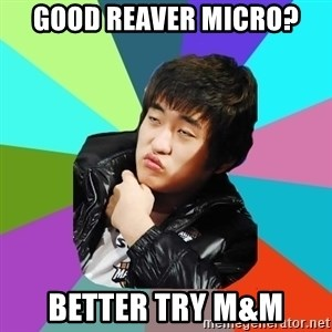 Unimpressed KTFlash - Good reaver micro? Better try M&M