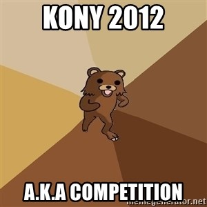 Pedo Bear From Beyond - kony 2012 a.k.a competition