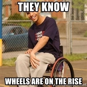 Drake Wheelchair - they know wheels are on the rise