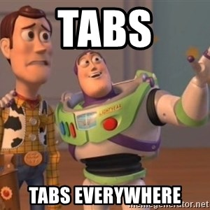 FINALES EVERYWHERE - Tabs tabs everywhere