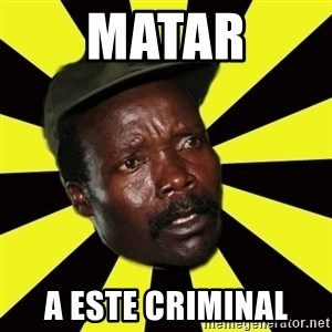 KONY THE PIMP - matar a este criminal