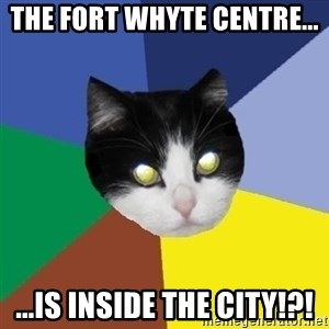 Winnipeg Cat - The Fort Whyte centre... ...is Inside the city!?!