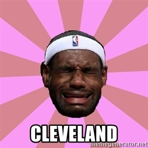 LeBron James - Cleveland