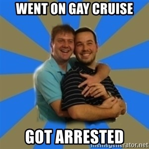 Stanimal - Went on gay cruise Got arrested