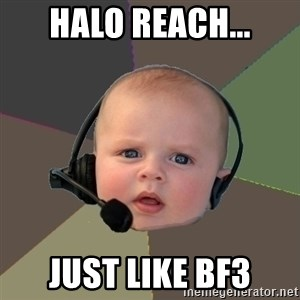 FPS N00b - halo reach... just like bf3