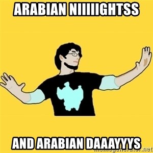 SCuta - Arabian niiiiightss and arabian daaayyys