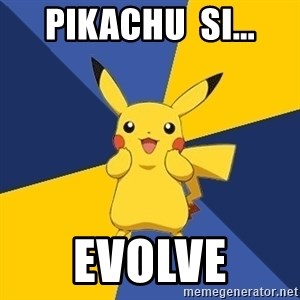 Pokemon Logic  - pikachu  si... evolve