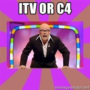Harry Hill Fight - ITV or C4