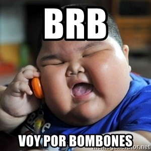 Fat Asian Kid - brb voy por bombones