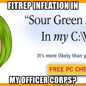 X In My Y - FITREP INFLATION IN  MY OFFICER CORPS?