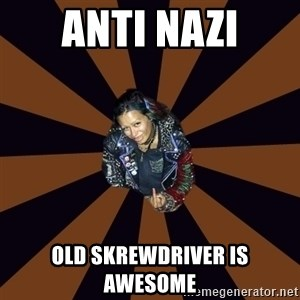 Hypocritcal Crust Punk  - anti nazi old skrewdriver is awesome