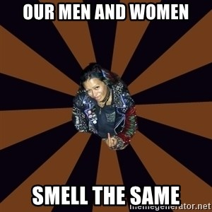 Hypocritcal Crust Punk  - our men and women smell the same