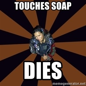 Hypocritcal Crust Punk  - touches soap dies