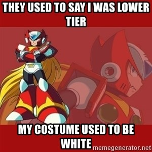 UMVC3 Zero - they used to say i was lower tier my costume used to be white