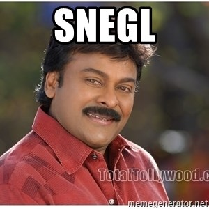Typical Indian guy - snegl